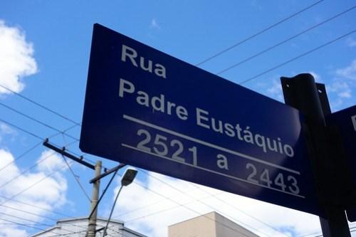 Rua Padre Eustaquio in Belo Horizonte