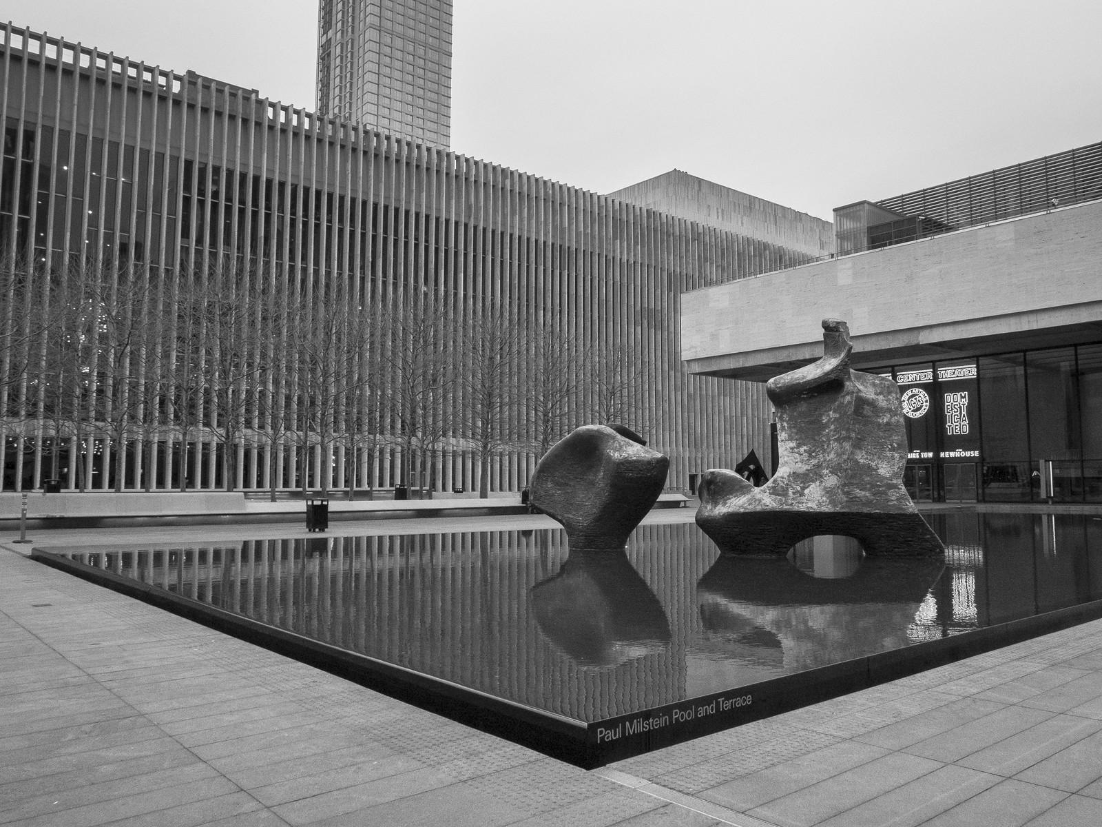 Paul Milstein Pool @ Lincoln Center by wwward0