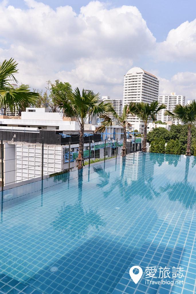 《曼谷酒店推荐》阿德菲49号酒店 Adelphi Forty-Nine Hotel:2015年新开业公寓式酒店,邻近空铁东罗捷运站。