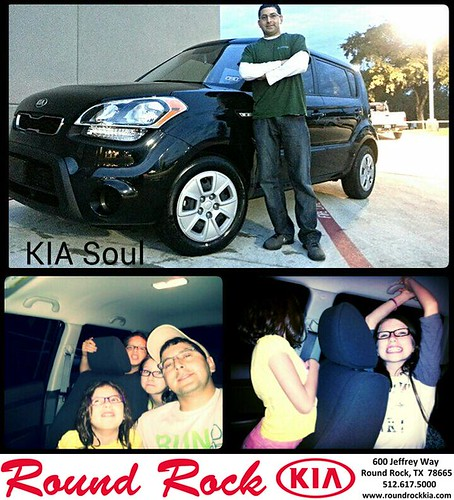 Thank you to Anthony Acosta on your new 2013 #Kia #Soul from Kelly  Cameron and everyone at Round Rock Kia! #NewCarSmell by RoundRockKia
