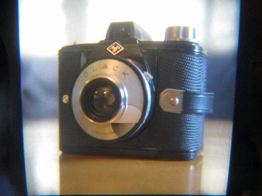 Through the viewfinder - Polaroid SX-70