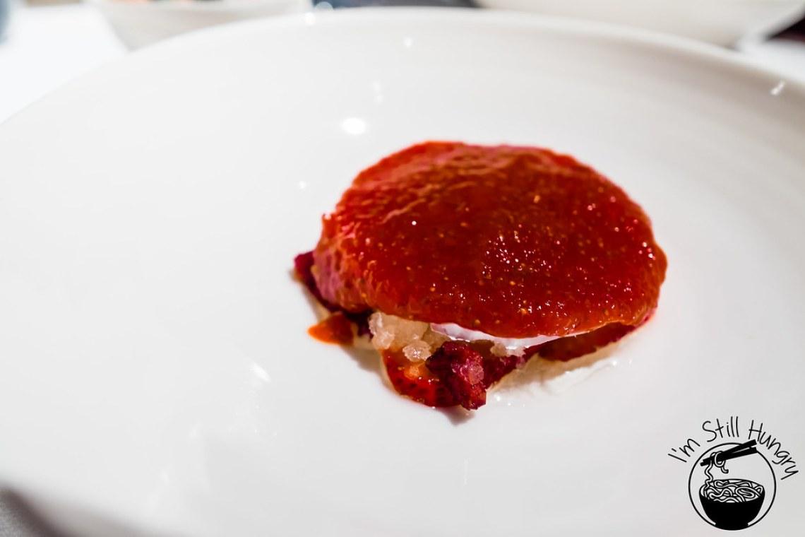 Raw strawberry jam Attica
