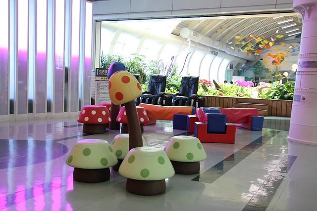小港國際機場候機室