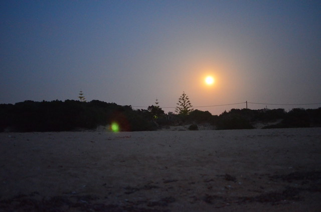 Lagouvardos Beach - Super Moon (23/6/2013)