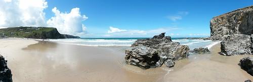 porthtowan beach by dakegra