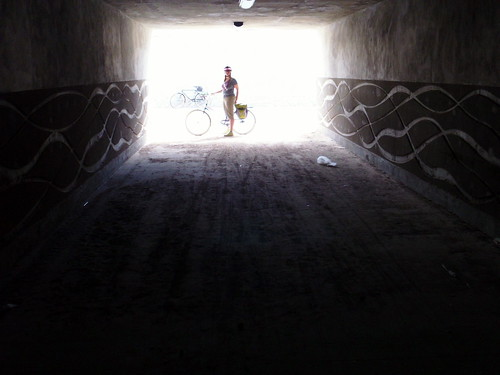 Gail Ryba Trail underpass in Santa Fe NM