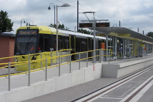 Ashton-under-Lyne tram testing (1)