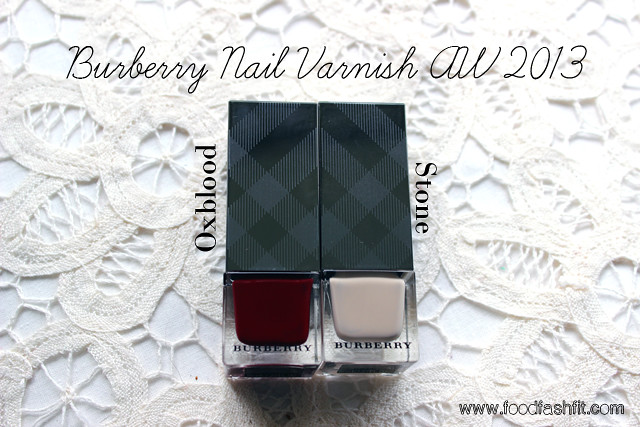 Burberry varnish