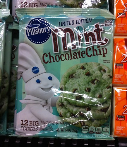 PIllsbury Limited Edition Mint Chocolate Chip