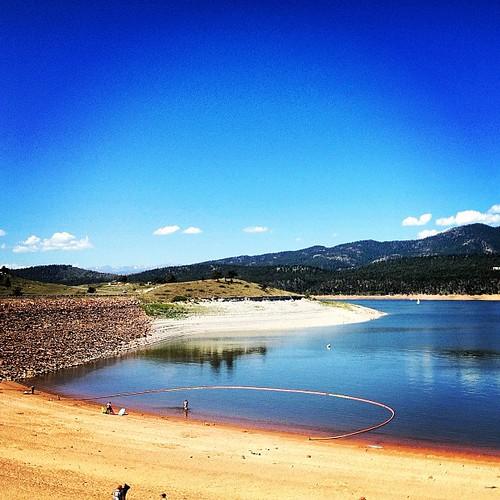 Carter Lake near Loveland CO by @MySoDotCom