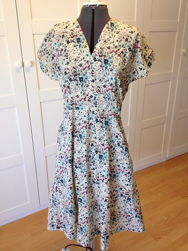 mystery Liberty neuron dress