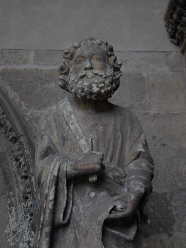 Detail, Saint Peter, Santa Maria de Leon