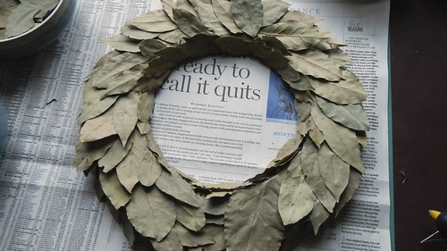 Bay Leaf Wreath 13