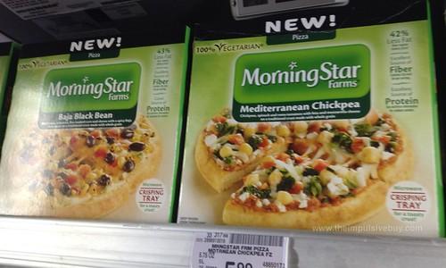 MorningStar Farms Pizza (Baja Black Bean and Mediterranean Chickpea)