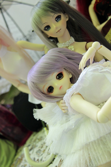 Doll meet at Edward Gardens