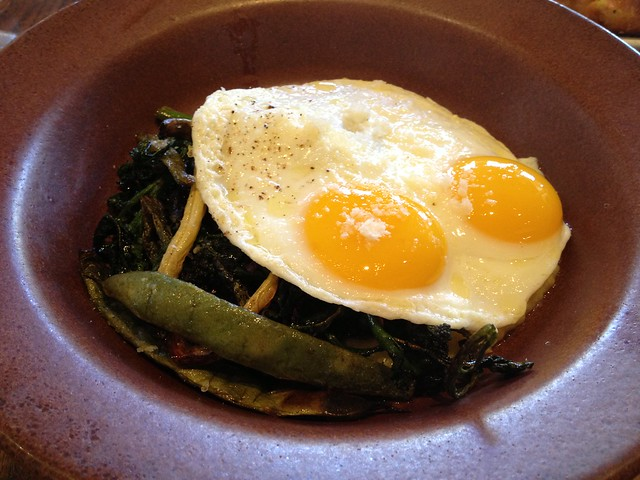 Butter basted eggs - Nopa