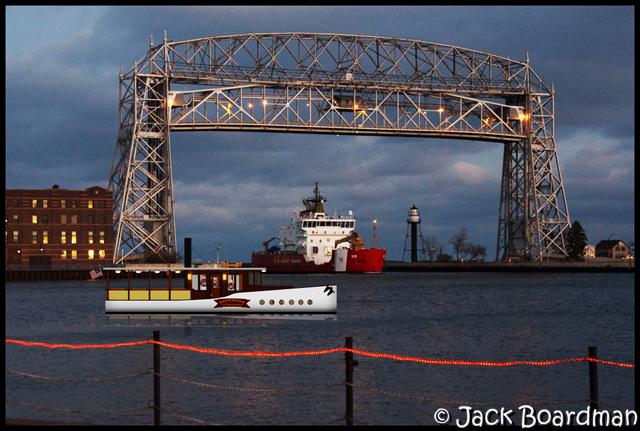 The Superior in Duluth Superior Harbor, waiting