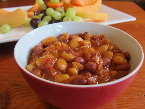 Baked beans for brunch