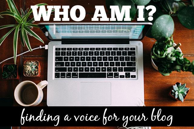 FindingAVoiceForYourBlog