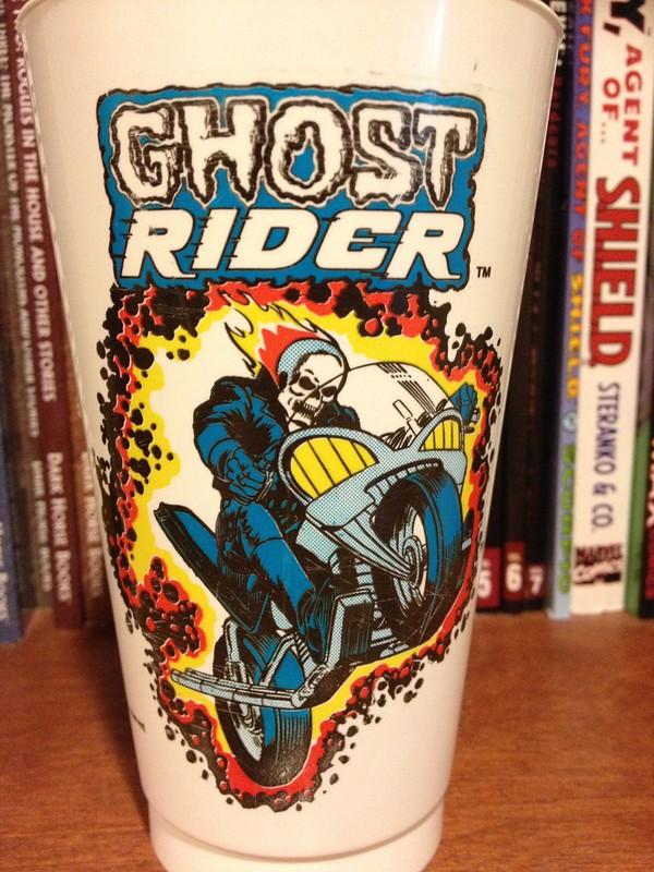 GiantSize Marvel Monster Monday Ghost Rider Slurpee cup