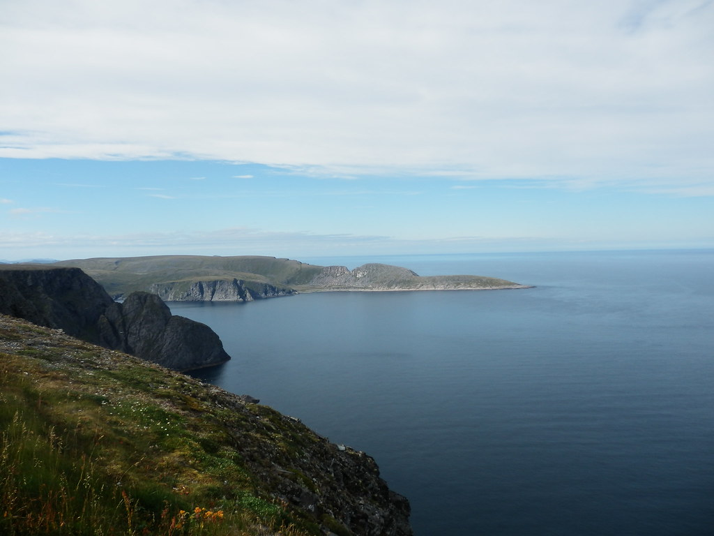 From Nordkapp looking to the real northernmost point
