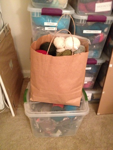 Yarn to send to Upcycle