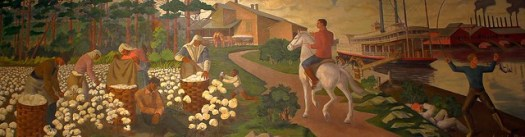 Hazelhurst MS Post Office Mural