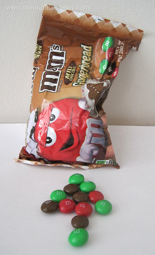 Milk Chocolate Gingerbread M&M's At the end of the Gingerbread journey