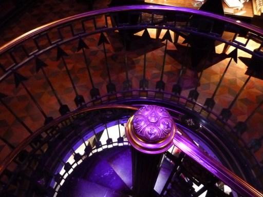 Serge Lutens Paris boutique, stairs