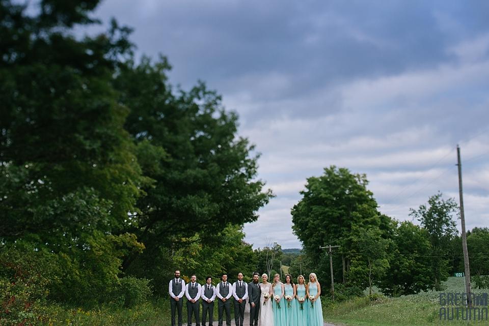 Autumn South Pond Farms Wedding Photography 0055