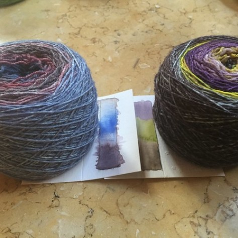 Whimzy Yarn - experiments