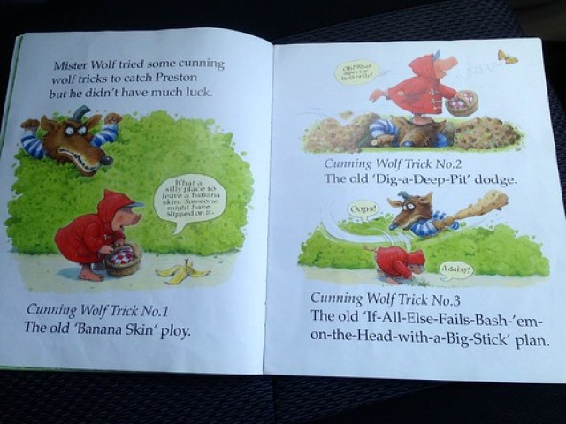 Children's books: oops!