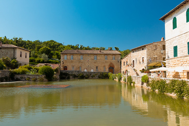 Bagno Vignoni Italy  Flickr  Photo Sharing