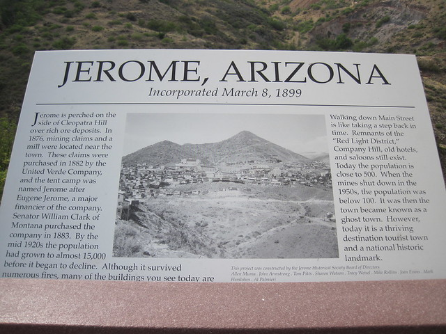 Pictures from Jerome, Arizona