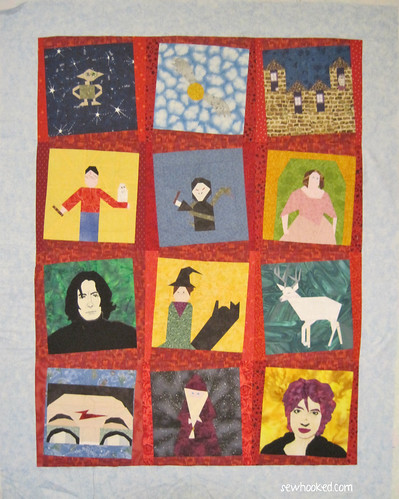 Harry Potter Swap Quilt