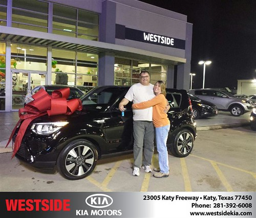 Thank you to Denise Brehm on your new 2014 #Kia #Soul from Jonathan Delgado and everyone at Westside Kia! #NewCar by Westside KIA