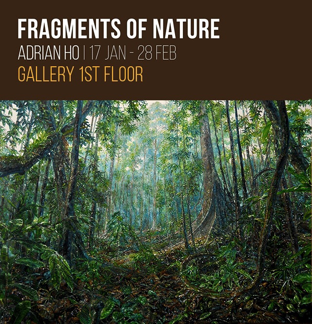 Fragments of Nature by Adrian Ho, CAD Centre for Arts & Design, Events, Exhibition, Kota Kinabalu, Sabah, Chloe Tiffany Lee