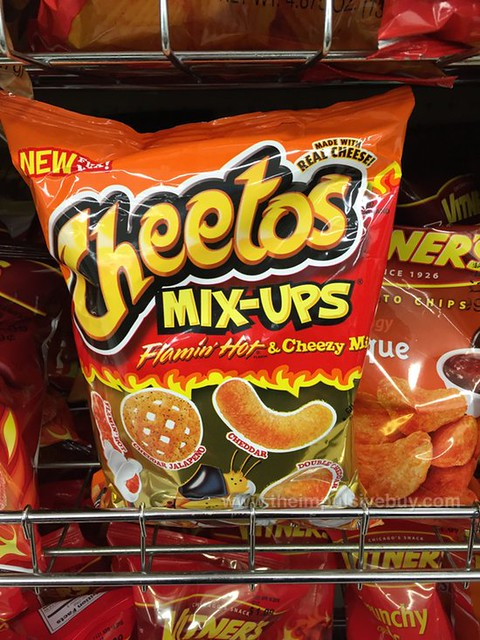 Cheetos Mix-ups Flamin' Hot & Cheezy Mix