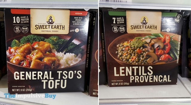 Sweet Earth Natural Foods General Tso's Tofu and Lentils Provencal