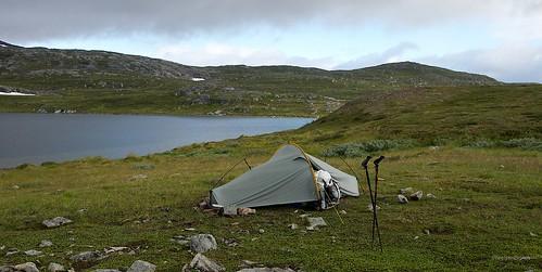 Morning below Camp below Kveppsendalstjønna