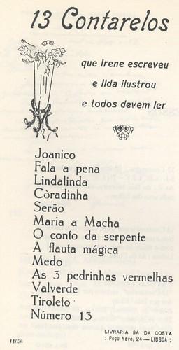 Irene Lisboa - 13 Cantarelos by lusografias