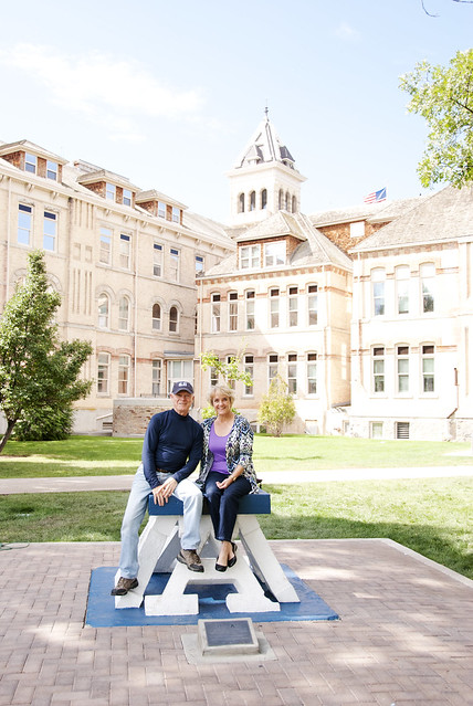 Mom and Mike at USU