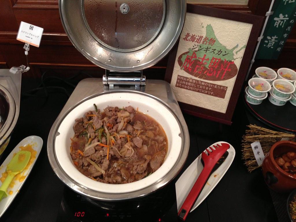 Stir-fry Beef in Genghis Khan Style