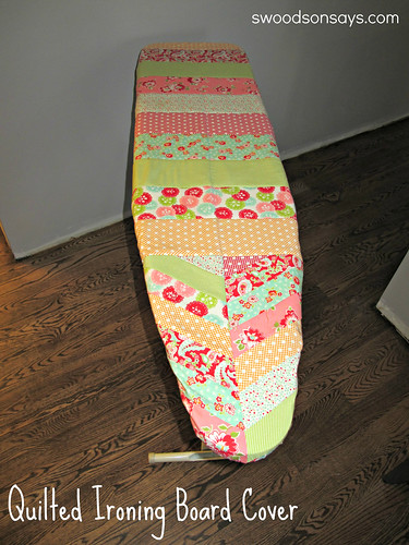 Quilted Ironing Board - Swoodson Says