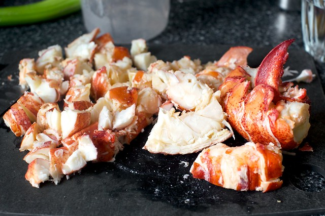 a ridiculous luxury of lobster