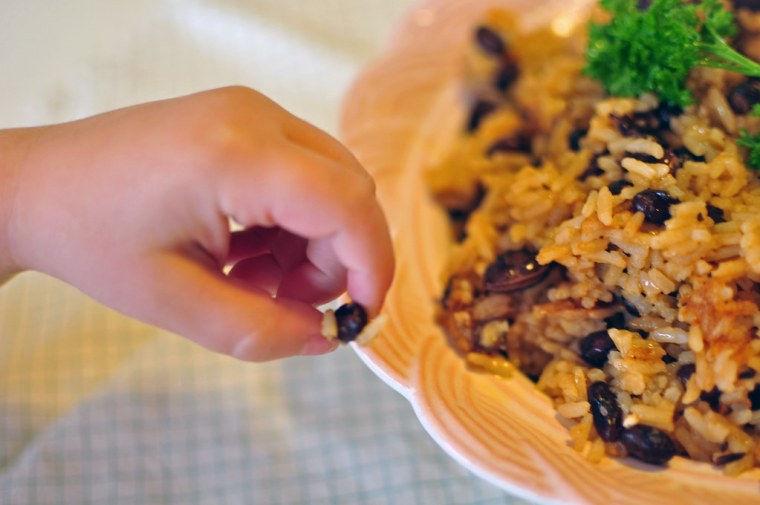 Black Beans and Rice 4