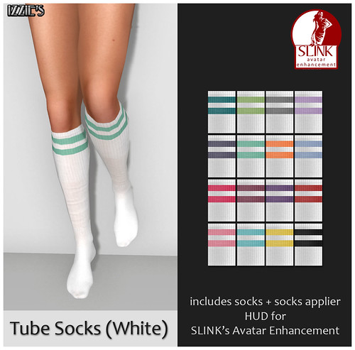 Tube Socks (White)