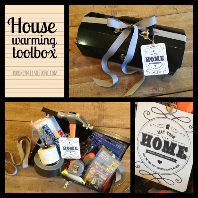 Housewarming Toolbox Gift | Brooklyn Limestone