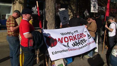 Picket and March for Whyte Avenue Workers