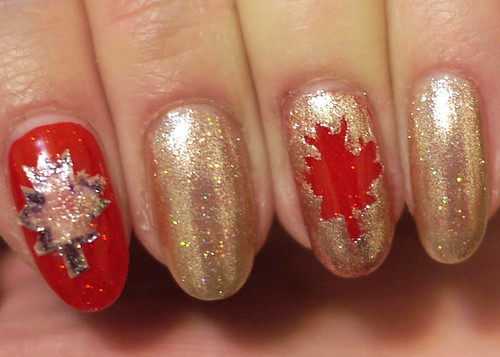 Tessa's Canadian Fan-icure